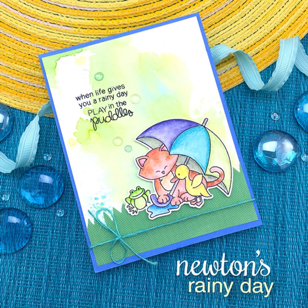 Newton's Rainy Day Stamp Set by Newton's Nook Designs