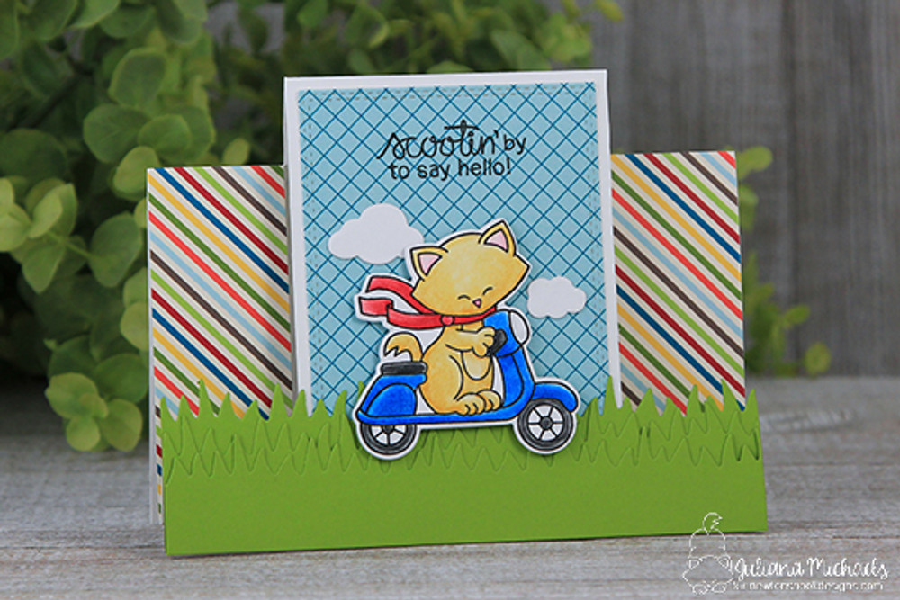 Newton Scoots By Stamp Set by Newton's Nook Designs