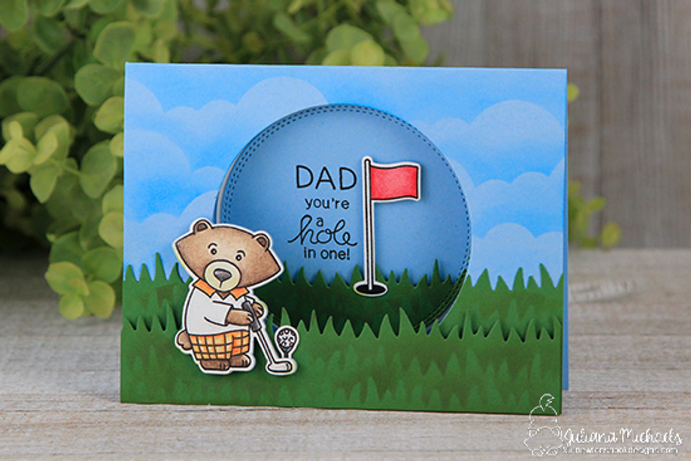 Winston's Tee Time Stamp Set by Newton's Nook Designs