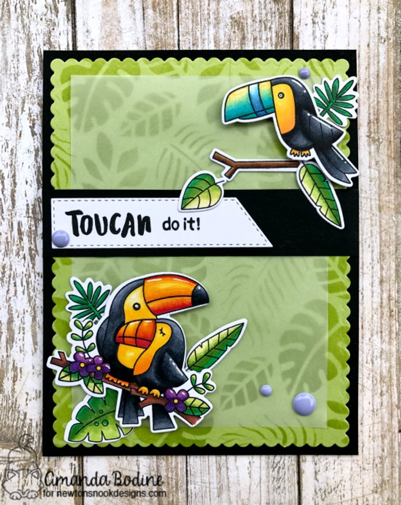 Toucan Party Stamp Set by Newton's Nook Designs