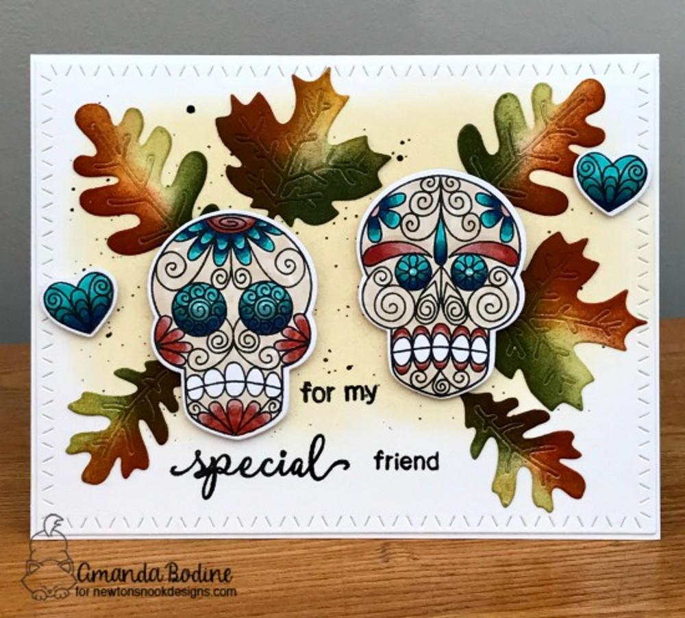 Beautiful Bones Stamp Set by Newton's Nook Designs