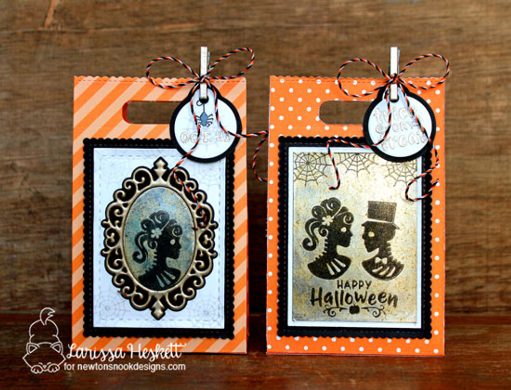 Creepy Cameos Stamp Set by Newton's Nook Designs