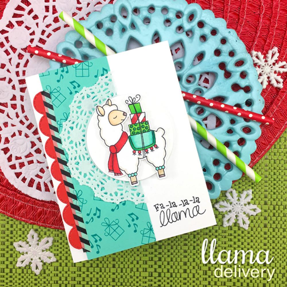 Llama Delivery Stamp Set ©2017 Newton's Nook Designs