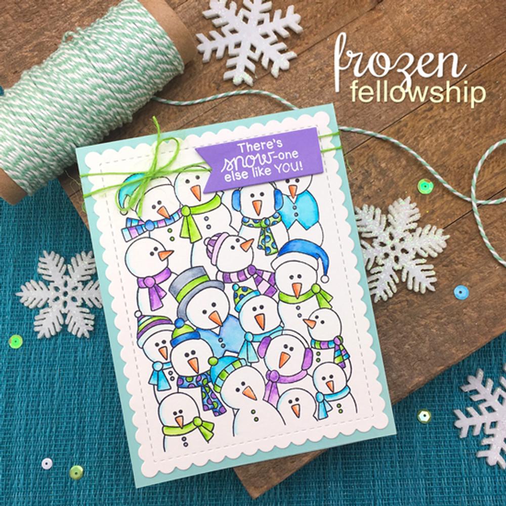Frozen Fellowship Stamp Set ©2017 Newton's Nook Designs
