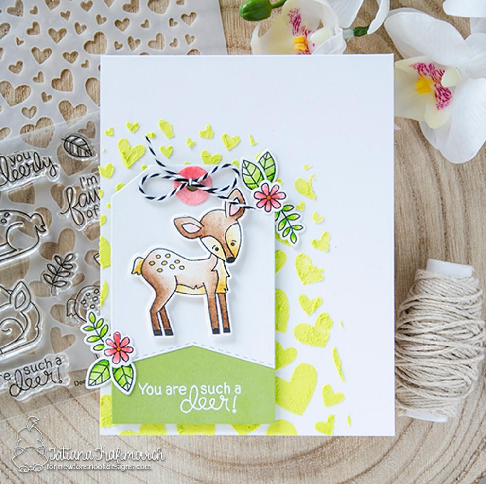 Deer Friend Stamp Set ©2018 Newton's Nook Designs
