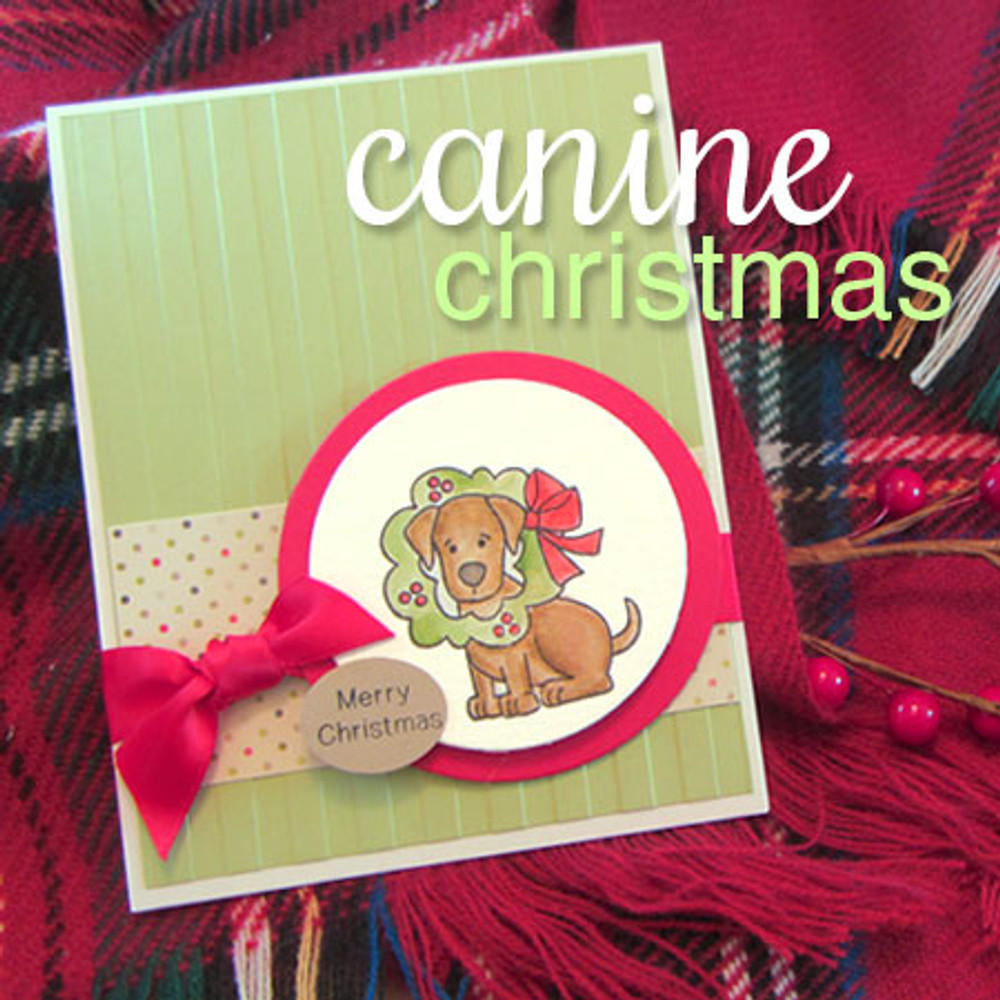 Canine Christmas Stamp Set by Newton's Nook Designs