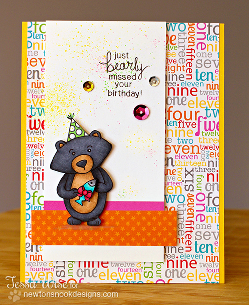 """""""Bearly"""" missed your Birthday card  