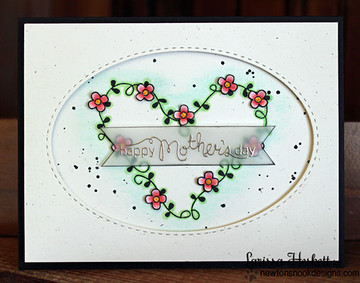 Mother's Day Card made  | Love Grows stamp set by Newton's Nook Designs