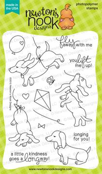 Delightful Doxies | 4x6 Photopolymer Stamp Set | Newton's Nook Designs