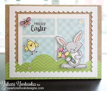 Hello Spring Stamp Set by Newton's Nook Designs