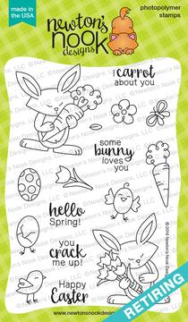 Hello Spring Stamp Set ©2016 by Newton's Nook Designs