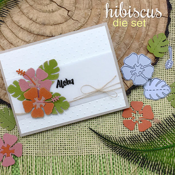 Hibiscus Die Set by Newton's Nook Designs
