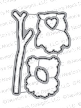 What a Hoot Die Set by Newton's Nook Designs
