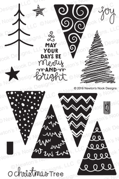 Festive Forest Stamp Set by Newton's Nook Designs
