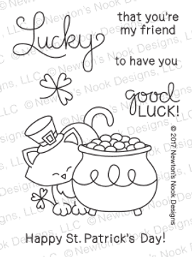 Newton's Pot of Gold Stamp Set by Newton's Nook Designs