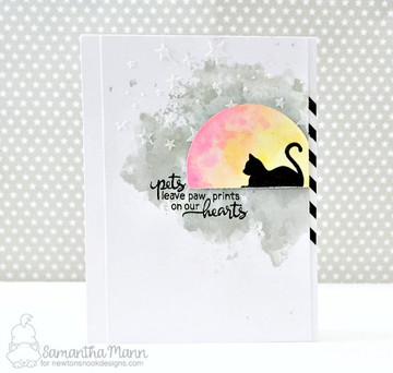 Furr-ever Friends Stamp Set by Newton's Nook Designs
