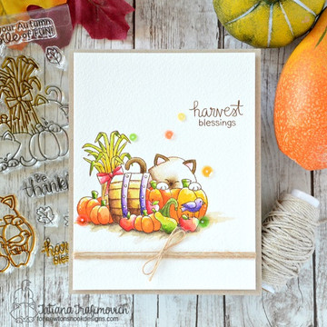 Autumn Newton  Stamp Set by Newton's Nook Designs