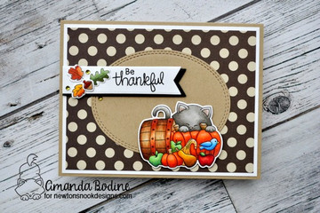 Autumn Newton  Stamp Set ©2017 Newton's Nook Designs