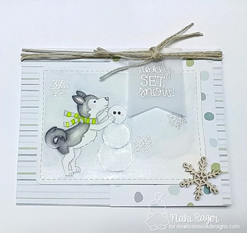 Winter Woofs Stamp Set ©2017 Newton's Nook Designs