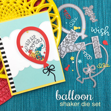 Balloon Shaker Die Set ©2018 Newton's Nook Designs