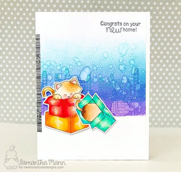 Newton Loves Boxes Stamp Set ©2018 Newton's Nook Designs