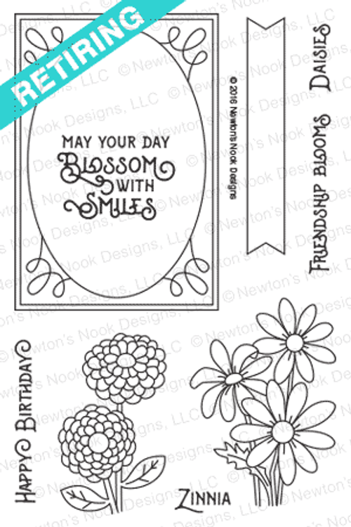 Garden Starter Stamp Set by Newton's Nook Designs