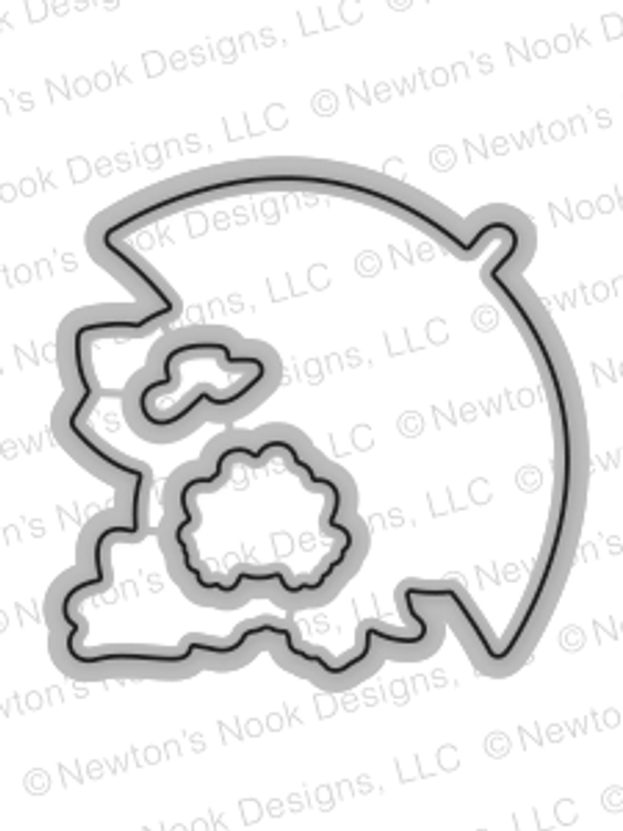 Newton's Rainy Day Die Set by Newton's Nook Designs
