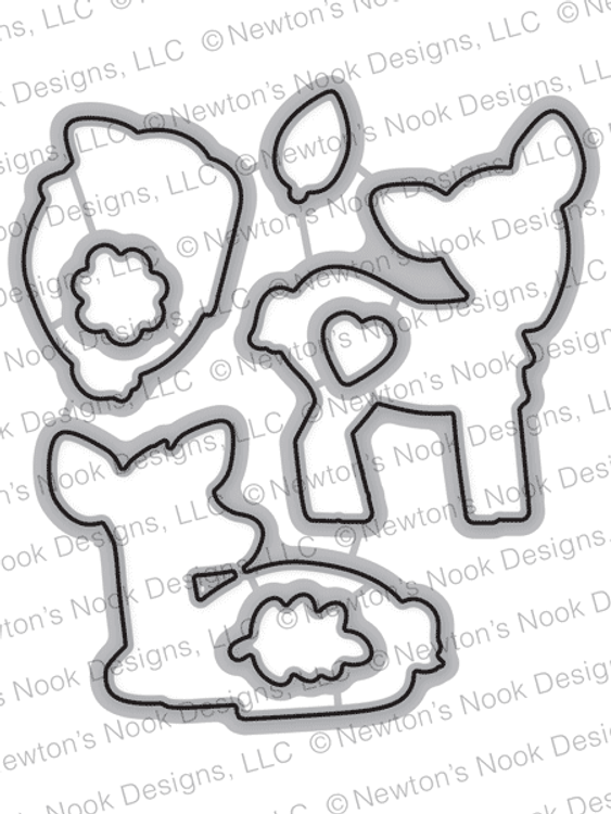 Deer Friend Die Set ©2018 Newton's Nook Designs