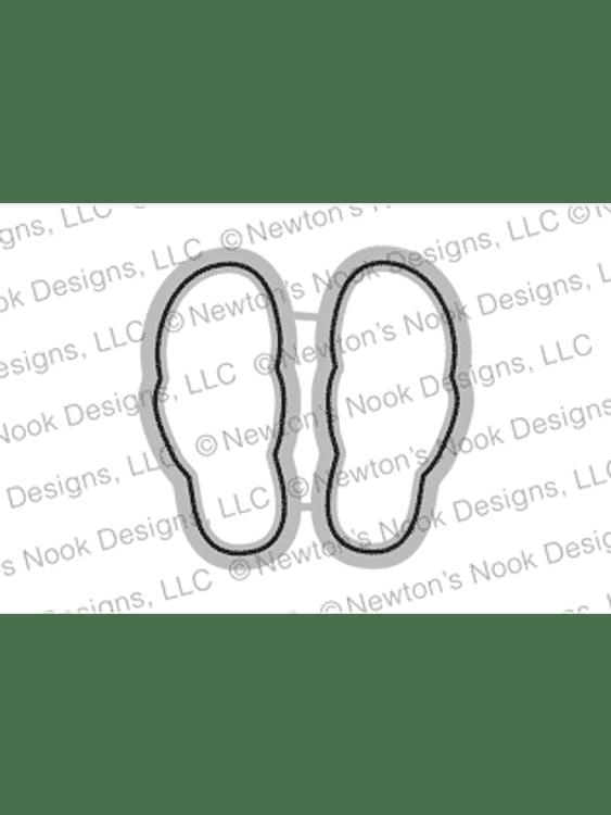 Flip-Flop Life Die Set ©2018 Newton's Nook Designs