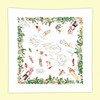 Hawaiian Islands  Map Towel