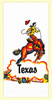 Texas Cowboy Towel