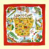 Arkansas Map Towel
