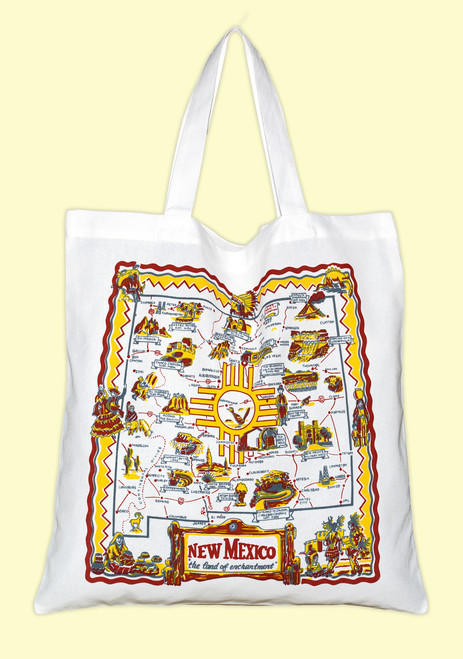 New Mexico  Map Tote