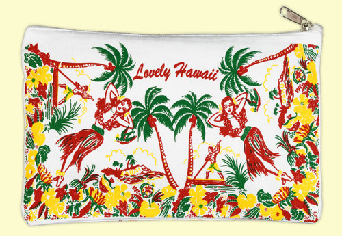 Lovely Hawaii Travel Pouch