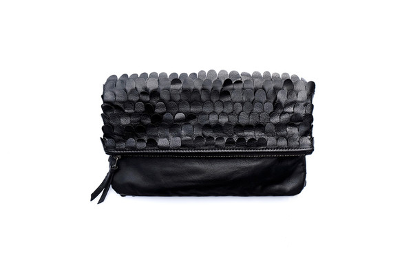 Scallop Fold-over Clutch