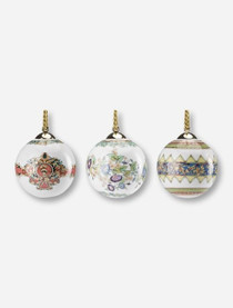 Versace Ball Ornaments Set