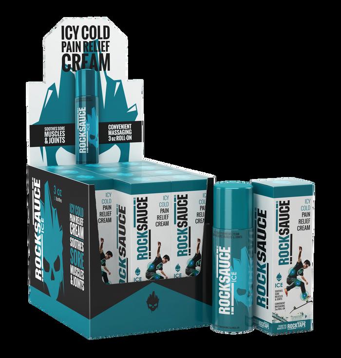RockSauce Ice 12 Pack w/Merchandiser