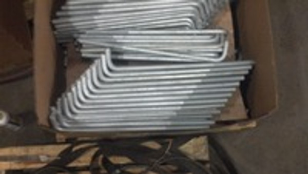 Rush Hot dip galvanized bolts