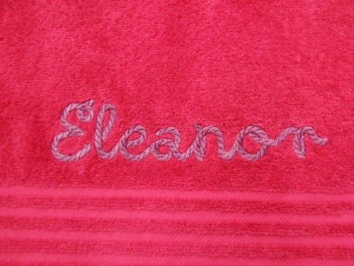 Towels With Names Embroidered on