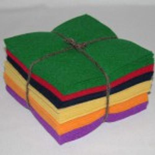 100% Wool Felt Classic Charm Pack