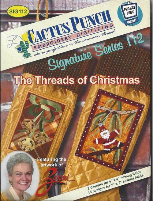 The Threads of Christmas artwork of Zanoni