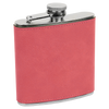 Hip Flask Pink Leather