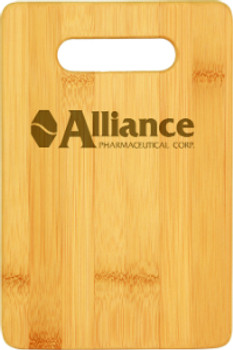 """Engraved Bamboo Cutting Board 9"""" by 6"""""""