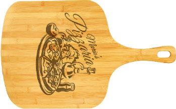"""Engraved Bamboo Pizza Board 23.5"""" x 14.5"""""""