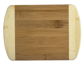 Engraved Two-Tone Bamboo Cutting Board 8""