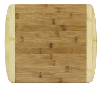 Engraved Two-Tone Bamboo Cutting Board 13""