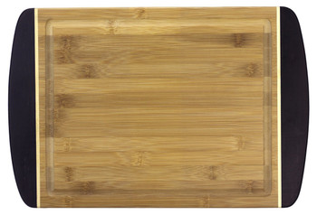 Engraved Dark Two-Tone Bamboo Cutting Board 18""