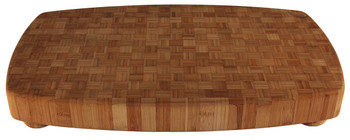 Engraved Large Bamboo Butcher Block