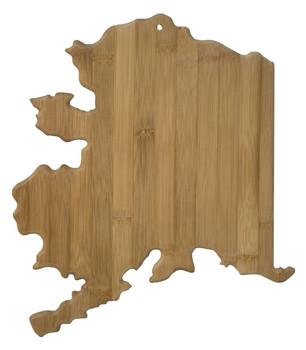 """Alaska Shaped Bamboo Cutting Board 13.5"""""""