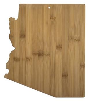 "Arizona Shaped Bamboo Cutting Board 13.5"""